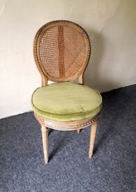 Antique American cane chair
