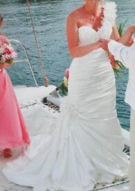Beautiful Sottero and Midgely Pale Ivory Wedding dress - Size 10