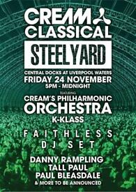 Cream Classical Steelyard tickets Liverpool Bargain