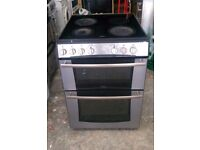6 MONTHS WARRANTY Belling Stainless Steel, double oven electric cooker FREE DELIVERY