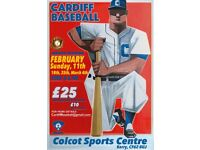 BASEBALL TEAM IN CARDIFF - NEW PLAYERS WANTED