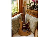 Swamp Ash Stratocaster custom build H-S-H