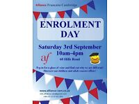 Enrolment Day