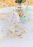 *Vintage Tea Cup, Dish and Dessert Table Rentals*