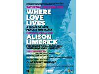 Where Love Lives FT Alison Limerick