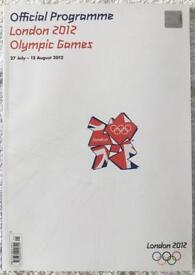 London Olympics 2012 - Official Program