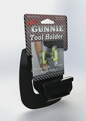 The Gunnie Tool Holder. 10-pack Cordless Belt Hook Holster Driver Screwguns