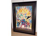 "DC Justice League ""Guardians of Justice"" Lithograph (#428/500)"