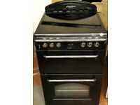 leisure classic 60cm wide double oven and grill electric ceramic cooker