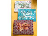 Photo album or ticket books