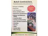 All types of work, free estimates, guaranteed work, 30 years experience, no job too small!
