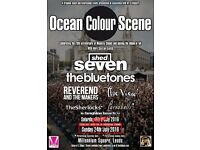 2 tickets for Ocean Colour Scene, Shed Seven, The Bluetones at Leeds Millennium Square 23rd July