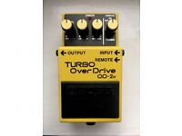 BOSS OD-2r Turbo Overdrive Effects Pedal