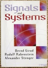 Signals and Systems - university textbook for engineering students