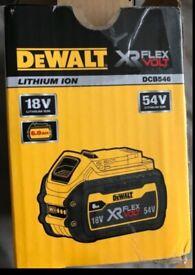DEWALT DCB546-XJ 54V 6.0AH LI-ION XR FLEXVOLT BATTERY