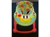 Baby Walker and activity centre, Highchairs, BT Digital Baby monitor* each £10 only