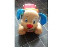 Fisher Price Learn to Stride puppy walker