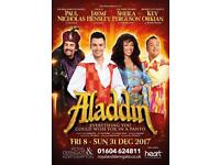 Two Derngate Panto Tickets