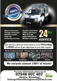 24/7 Rubbish Removal, Builders Waste & House Clearance