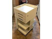 Artists storage trolley