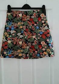 Zara A-line skirt size M