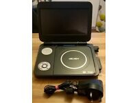 Bush BDVD8382i Portable DVD Player - Black 8 Inch Screen