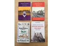 Books for sale for railway enthusiasts