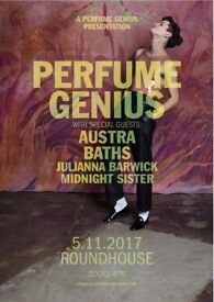 Tickets for Perfume Genius, Austra, Baths at Roundhouse London