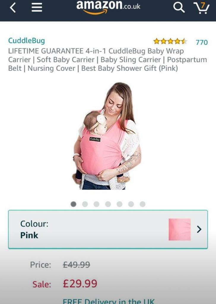 Baby Carrier In Nunthorpe North Yorkshire Gumtree