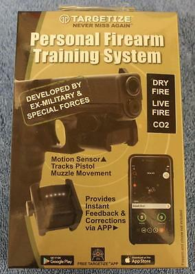 Targetize Firearm Training Sensor System Provides Pro Feedback   Shot Evaluation