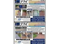 FMDRIVEWAYS Professional Power washing and steam cleaning and sealing driveways/patio etc