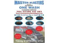 Master blasters one call one wash does it all