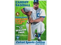 CARDIFF BASEBALL CLUB - OUTDOOR PRACTICE DATES ADDED