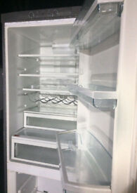 6.5 FOOT HOTPOINT SILVER AIR FLOW FRIDGE FREEZER - FREE DELIVERY