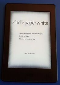 Kindle Paperwhite WiFi Only, fully working.