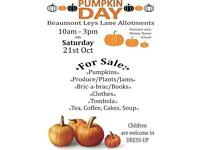 Pumpkin Day Drop-in Free Event Tea, Coffee, Cakes, Soup, Tombola