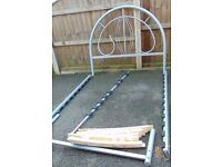 Metal standard 4ft6 double bed frame