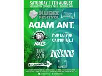 4 X Kubix Festival Tickets Sunderland