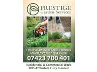 Horticultural RHS Affiliated Gardening Services