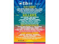 X1 Benicassim Festival Ticket
