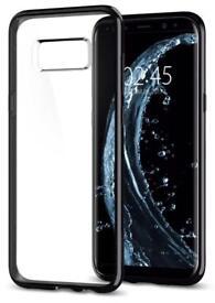 Samsung Galaxy S8 + Spigen Case