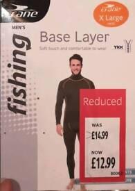 Mens thermal base layers