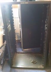 12RU and 20RU Metal racks for IT or AV equipment