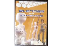 3 D printing tutorial for Blender new sealed £20 o n o