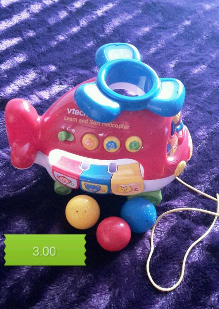 Vtech Musical Helicopter In Derby Derbyshire Gumtree