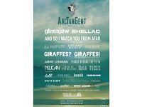 2x three day camping tickets ArcTanGent Festival - Bristol 16-18 Aug ATG