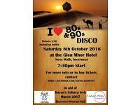 80/90s fundraising disco