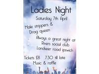 Charity ladies nite 👌