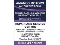 Workshop for Car Servicing & Repair and a yard for Car Sales for sale £30000