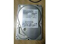 "Hitachi 500GB 3,5"" IDE(!) desktop hard drive - Cinemastar series -"